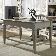 shop liberty furniture bungalow writing desk at lowes com