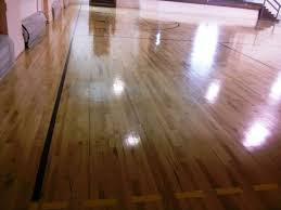 Wood Floor Paint by Wood Gym Floor Scrub And Clear High Gloss Gym Coating Services In