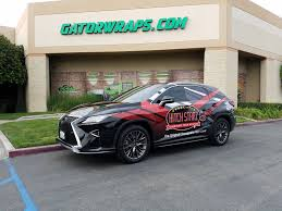 lexus wrapped sema graphics design u0026 installation gatorwraps
