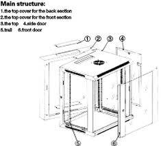 15u server rack cabinet server rack 4u 6u 9u 12u 15u wallmount server rack china