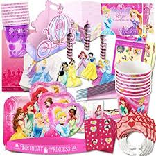birthday party supplies disney princess party supplies ultimate set 150