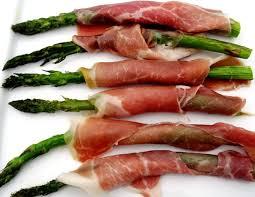 roasted asparagus wrapped with serrano ham jamón serrano my