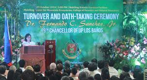 Up Los Banos Botanical Garden Oath Taking Ceremony At Makiling Botanic Gardens An Asean