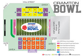 Ohio Stadium Map by Stadium Map Raycom Media Camellia Bowl Montgomery Al Espn