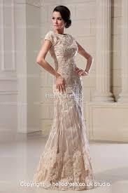 Champagne Wedding Dresses Lace Champagne Wedding Dress Weddingcafeny Com