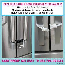 Kitchen Cabinet Locks Baby Amazon Com Kiscords Baby Safety Cabinet Locks For Handles Child