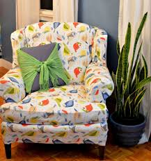 How To Reupholster A Wingback Armchair Ways To Reupholster A Wingback Chair Wearefound Home Design