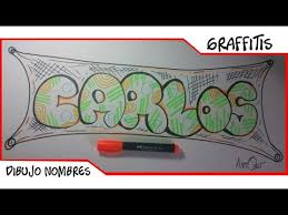 imagenes para dibujar letras graffitis dibujar nombre en graffiti carlos como dibujar letras en 3d