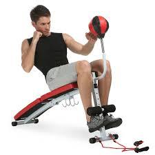 amazon com ancheer abdominal adjustable sit up bench decline