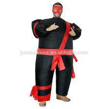 Samurai Halloween Costume Samurai Costume Inflatable Fat Men Mascot Japanese Warrior Cosplay