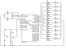 interfacing bit spi adc mcp3204 with avr micro schematic wiring