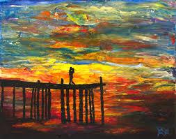 after losing his sight painter john bramblitt feels the colors on