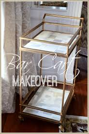 bar cart makeover stonegable