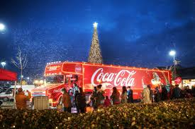 people are calling for the coca cola christmas truck to be banned