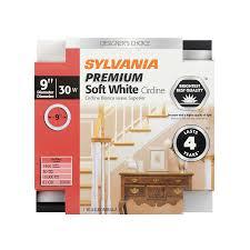 9 inch circular fluorescent light bulb shop sylvania 30 watt 3000k warm white circline dimmable fluorescent