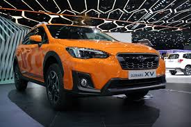 orange subaru forester 2018 subaru crosstrek debuts with better off road capability