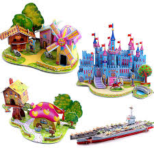 online get cheap 3d wooden puzzle house aliexpress com alibaba