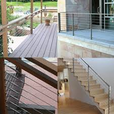 Cable Banister Stainless Steel Cable Railing Components E Rigging