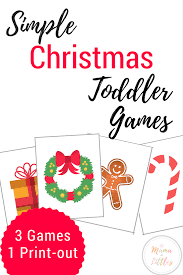 christmas games for toddlers mama of littles