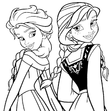 Disney Frozen Free Coloring Pages Print Print Disney Frozen