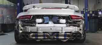 porsche 911 custom porsche 911 turbo strips to show us a stuning custom engine