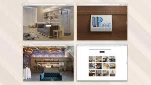 interior design website upbeat designs website