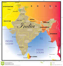 India Map Of States by India Map With States Royalty Free Stock Photos Image 2183588