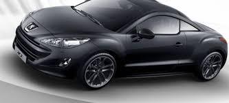 peugeot rcz black peugeot rcz black yearling diariomotor
