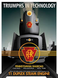 Pennsylvania travel style images Pennsylvania railroad poster by david anderson posters travel jpg