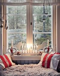 Christmas Window Decoration Ideas Home by Christmas Window Decoration Ideas Candle U003dsticks