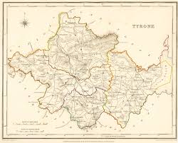 Map Of New England Area by Old Map Of County Tyrone My Paternal Great Grandfather Was Born