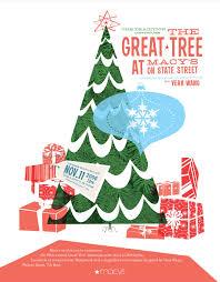 macy u0027s great tree poster holiday pinterest xmas graphics