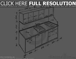 kitchen design measurements home decoration ideas