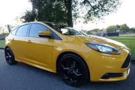 ford focus st yellow yellow ford focus st for sale in