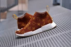 these supreme x louis vuitton x adidas originals nmd cs1 customs
