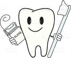 floss tooth toothbrush stock vector art 165497590 istock