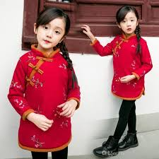 new year baby clothes 2018 2018 new year dresses style embroidered