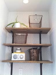 Reclaimed Wood Shelf Diy by 36 Best Wood Shelves And Reclaimed Wood Images On Pinterest
