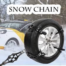 truck car black easy install simple winter truck car snow chain tire anti skid