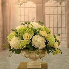 floral home decor hydrangea large silk flower arrangement