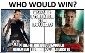 Wanna Bet Meme - wanna bet if tomb raider 2018 is a success in the future nobody