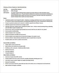 medical office manager job description sample 6 examples in
