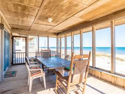 spacious living room beach front cottage with spacious living room screened porch