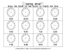 free printable cut and paste telling time worksheets telling