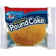 drake u0027s all butter pound cake calories nutrition analysis u0026 more