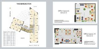 burlington tower floor plans business bay