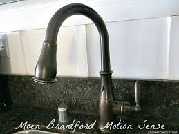 motion sensor kitchen faucet i m in with a faucet moen motionsense