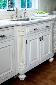 French Country Kitchen Sink Detail W  Fluted Column Legs Kitchen - Kitchen sink on legs