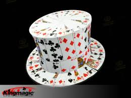 card fan to card top hat high quality kingmagic wholesale