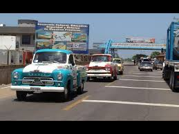 1960 chevrolet brasil pickup truck expedition entering venezuela